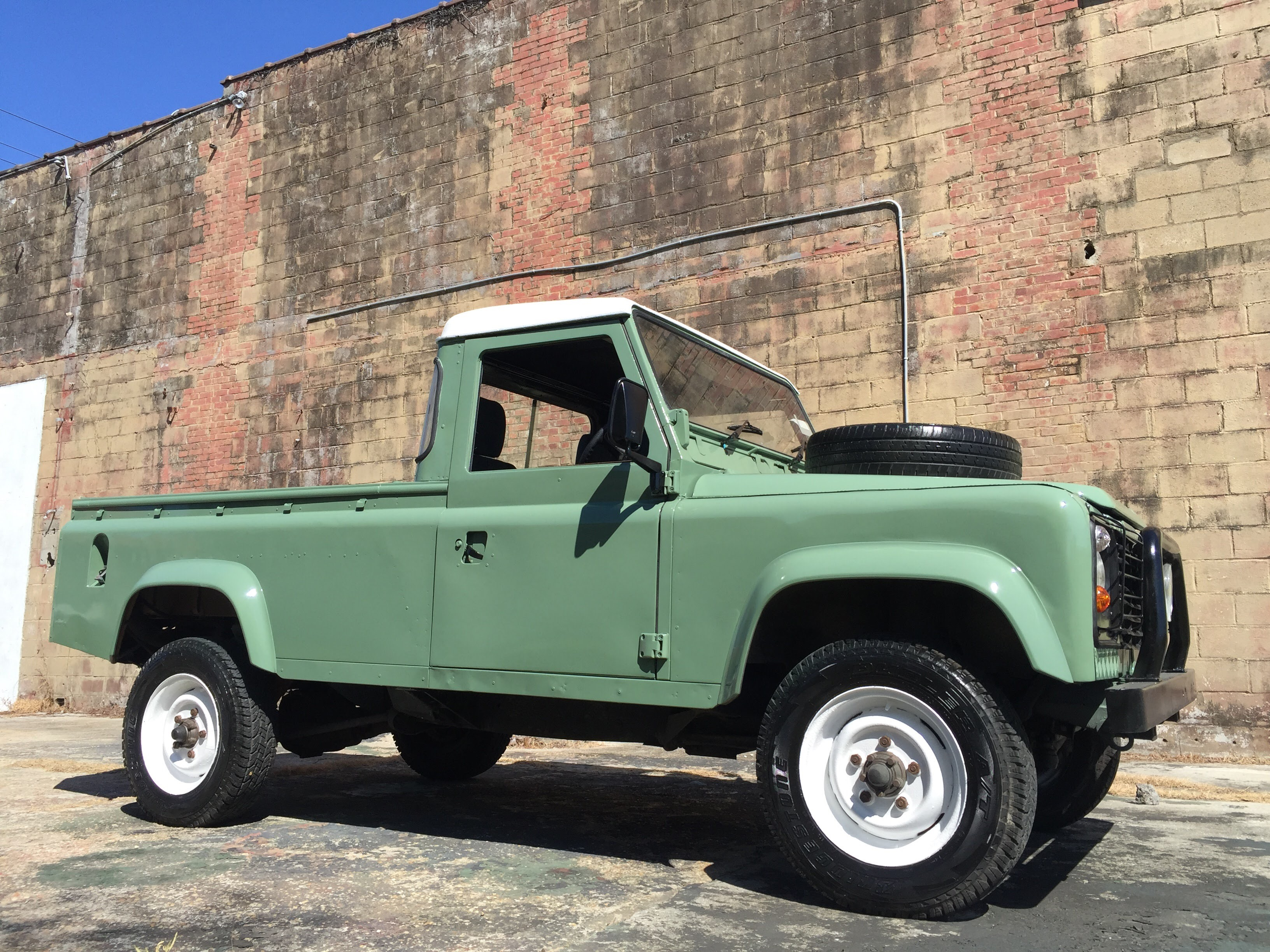 Vintage Land Rover 110 Relic Imports Land Rover