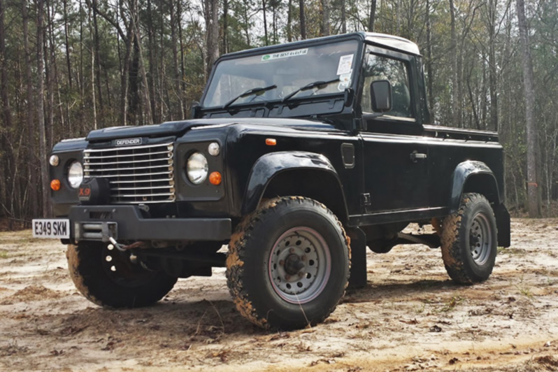 Black Betty Land Rover Defender 90 Truck