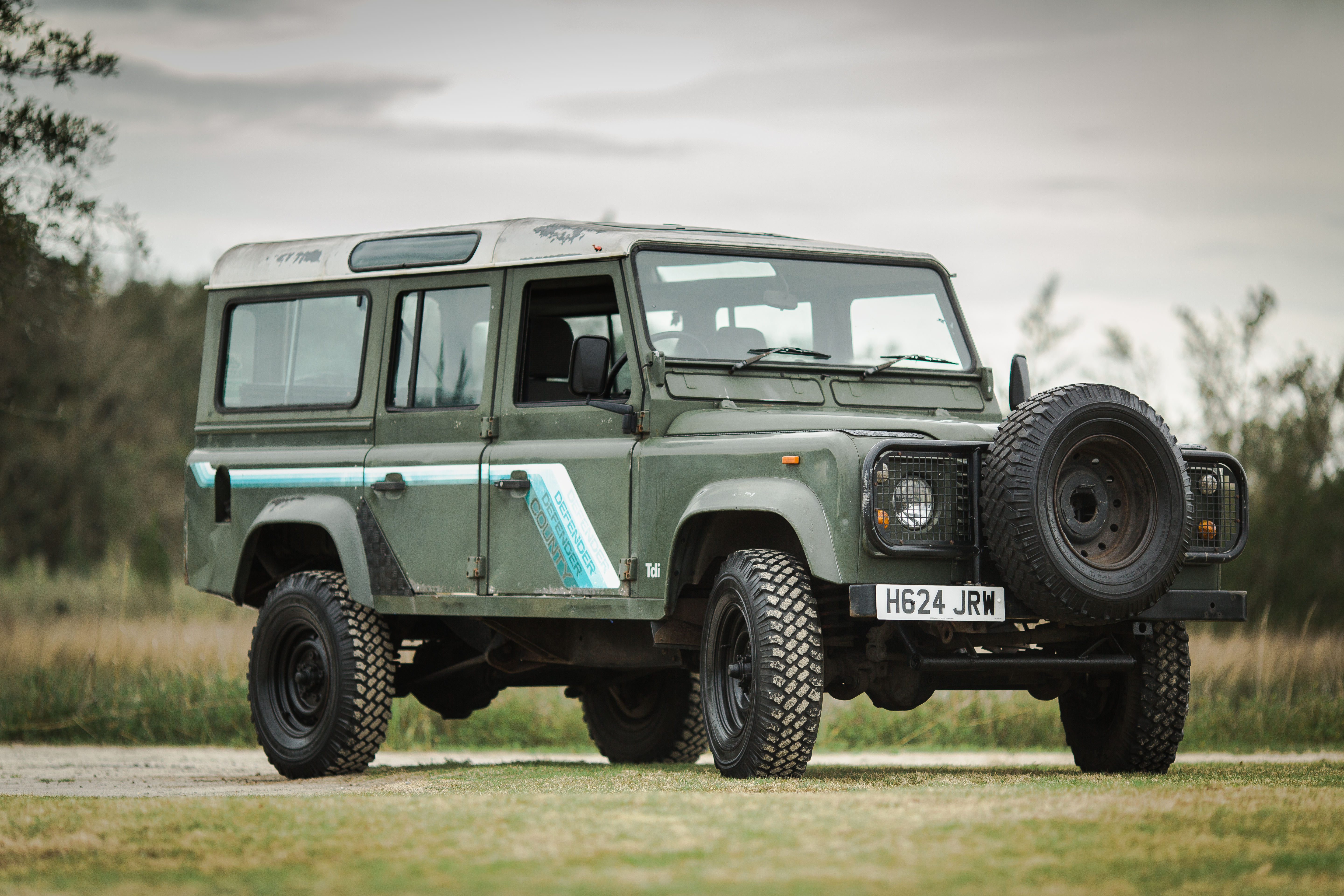 One Owner Land Rover Defender 110 TDI – Relic Imports | Land Rover