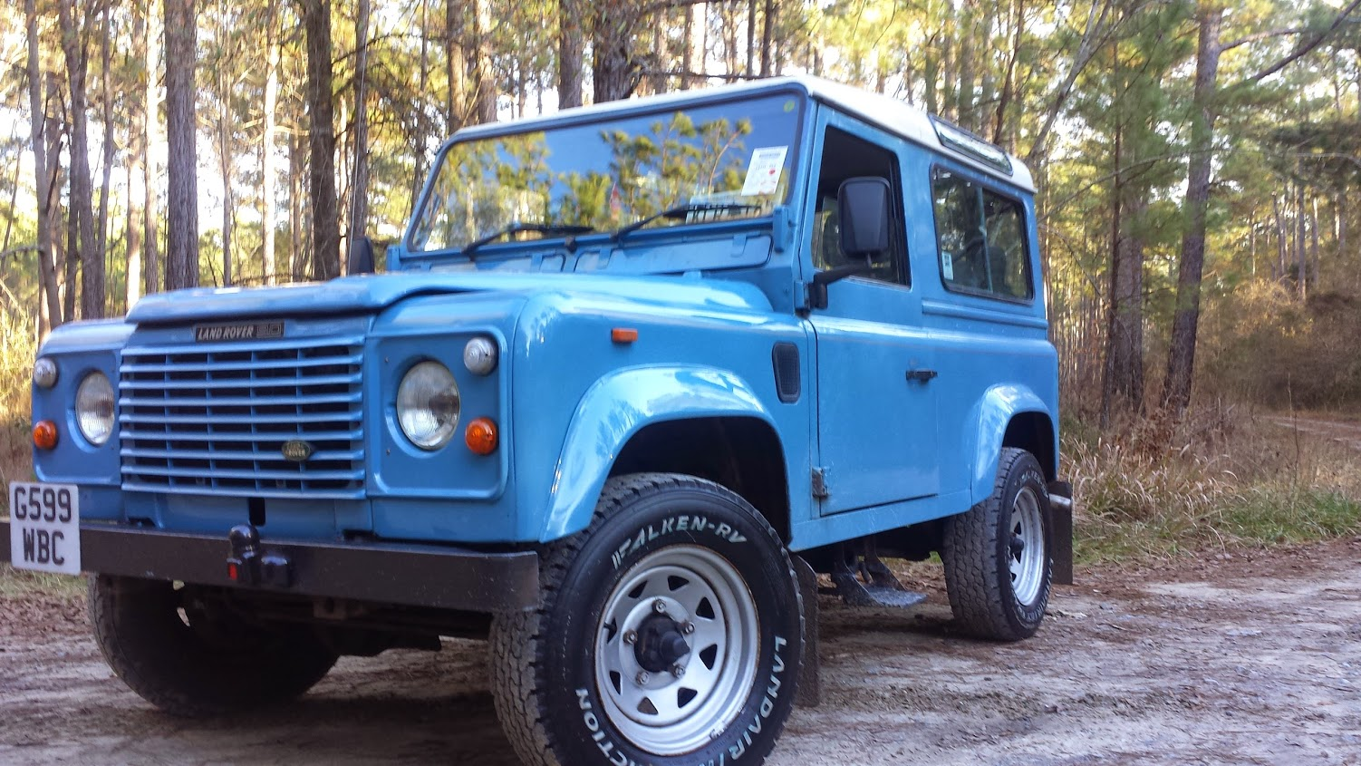 Sky Land Rover D90 – Relic Imports | Land Rover Defenders and Exotic