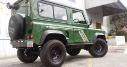 Forest Land Rover D90