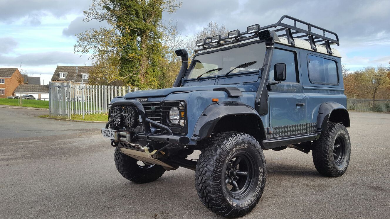 Car Payment Calculator >> Land Rover Defender D90 TDI Brute II – Relic Imports | Land Rover Defenders and Exotic Cars