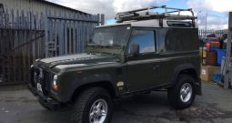 Land Rover Defender D90 200tdi Winter Green