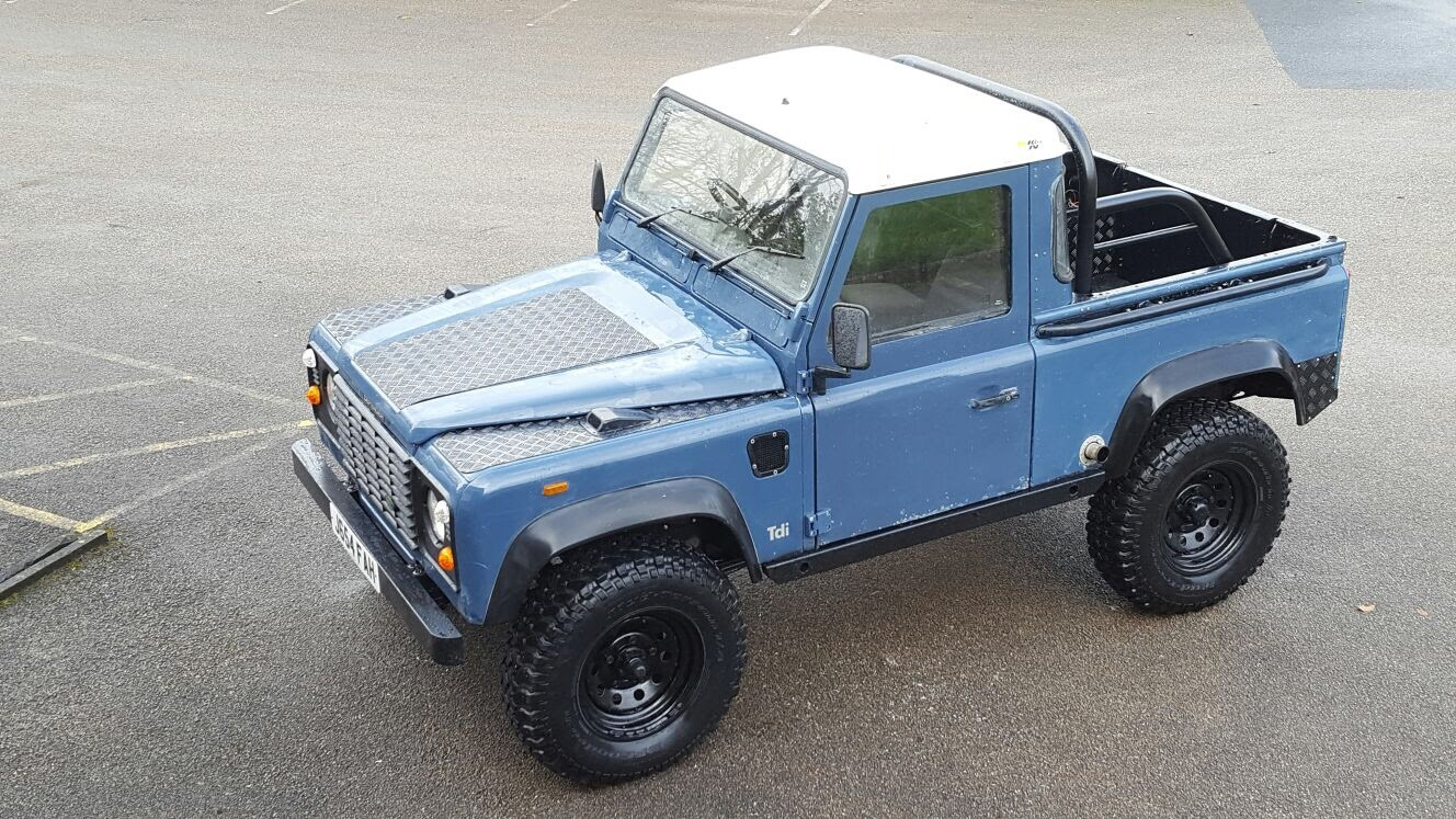 Car Payment Interest Calculator >> Land Rover Defender D90 TDI Trail Raider – Relic Imports ...