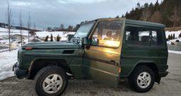 1992 LHD Mercedes G 300 Diesel