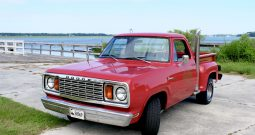 Dodge Lil Red Truck 1979